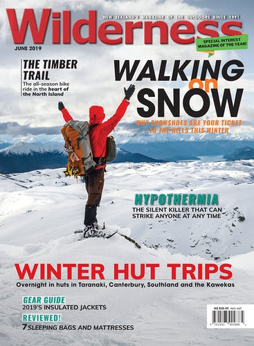 Image of the June 2019 Wilderness Magazine Cover
