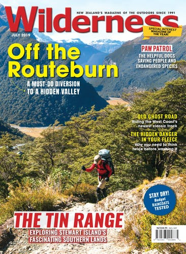 Image of the July 2019 Wilderness Magazine Cover