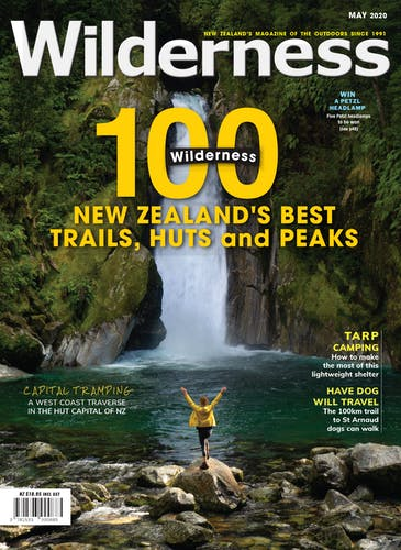Image of the May 2020 Wilderness Magazine Cover