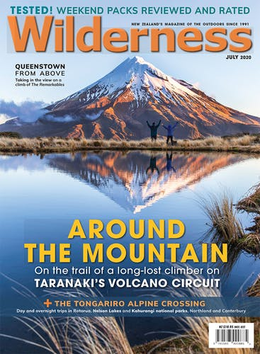 Image of the July 2020 Wilderness Magazine Cover