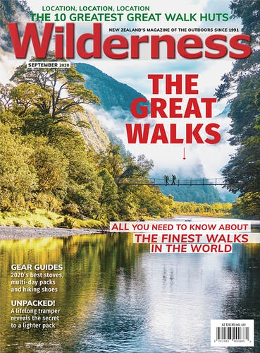 Image of the September 2020 Wilderness Magazine Cover