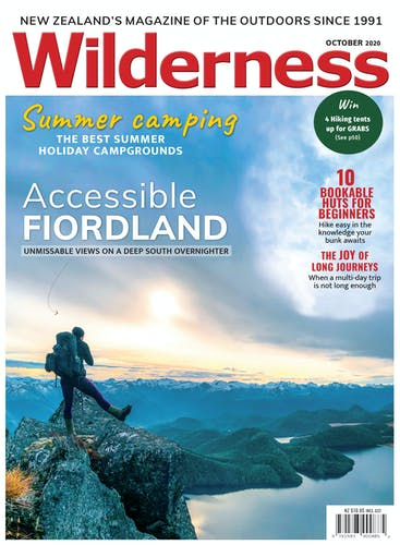 Image of the October 2020 Wilderness Magazine Cover