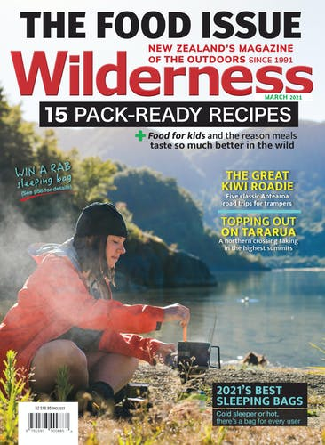 Image of the March 2021 Wilderness Magazine Cover