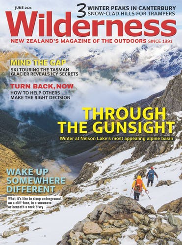 Image of the June 2021 Wilderness Magazine Cover
