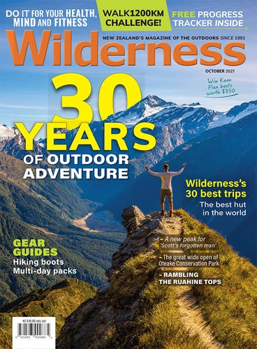 Image of the October 2021 Wilderness Magazine Cover