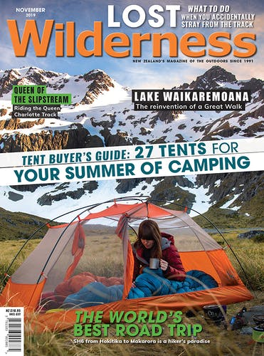 Image of the November 2019 Wilderness Magazine Cover