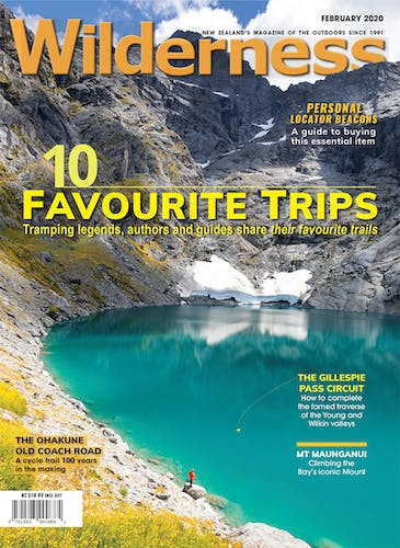 Image of the February 2020 Wilderness Magazine Cover