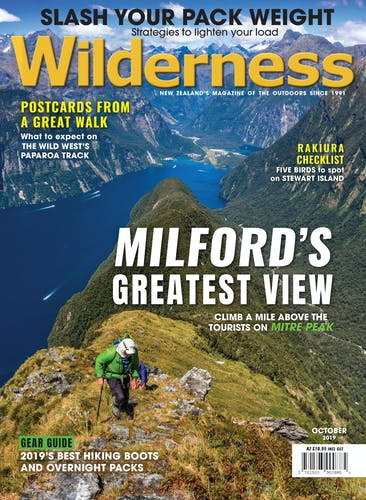 Image of the October 2019 Wilderness Magazine Cover
