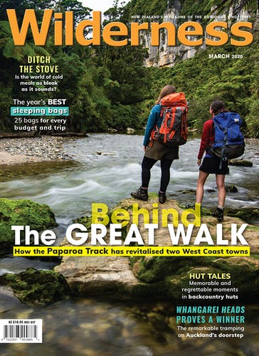 Image of the March 2020 Wilderness Magazine Cover